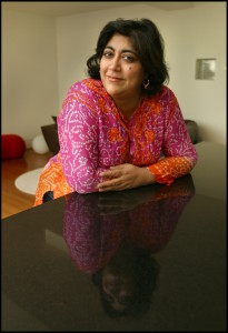 Director Gurinder Chadha at her home in the Soho district of central London, UK, Thursday October 28 2004 Photographer: Graham Barclay